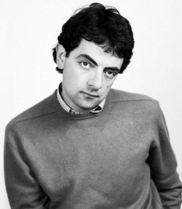 Rowan Atkinson de joven