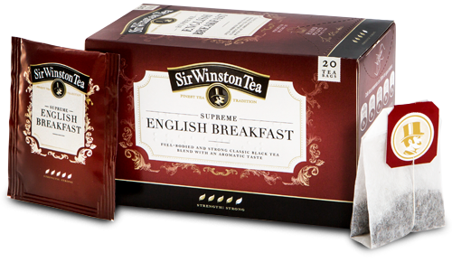 SIR WINSTONS TEA SUPREME ENGLISH BREAKFAST
