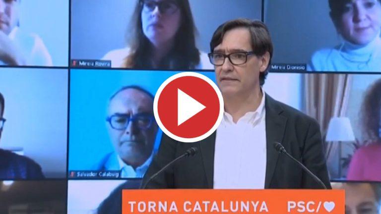 Illa ya ejerce como candidato a la presidencia de la Generalitat