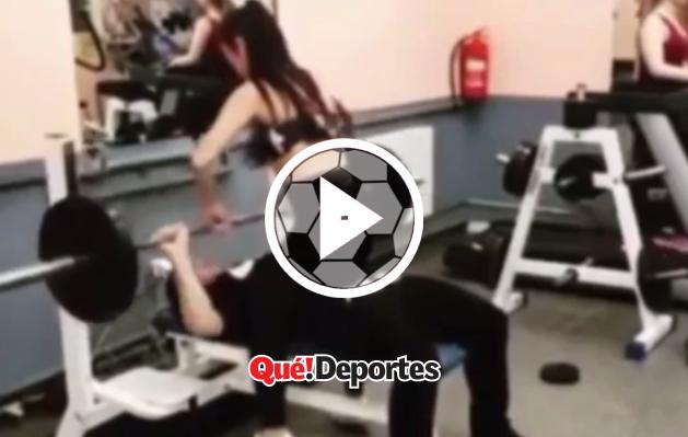 ¡Un gran truco para el gimnasio!
