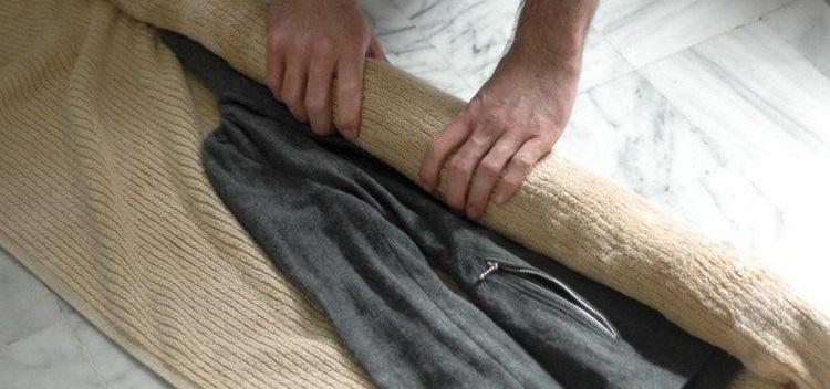 Secar abrigo de lana
