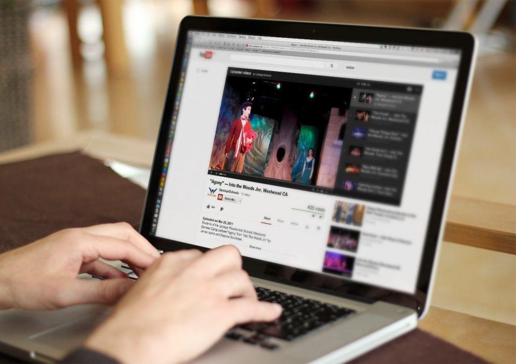 Seleccionar música para vídeo de YouTube