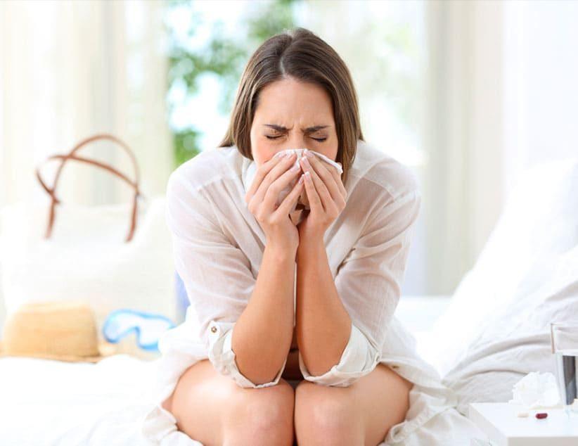 Síntomas de la gripe, la covid-19 y el resfriado