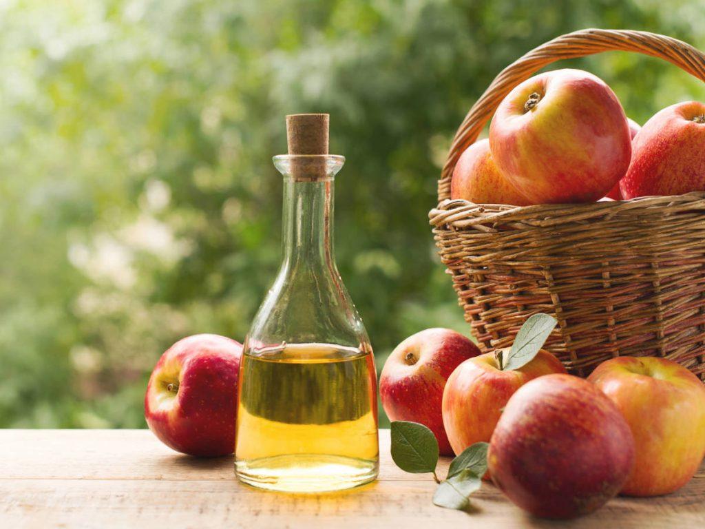 Vinagre de manzana para el acné