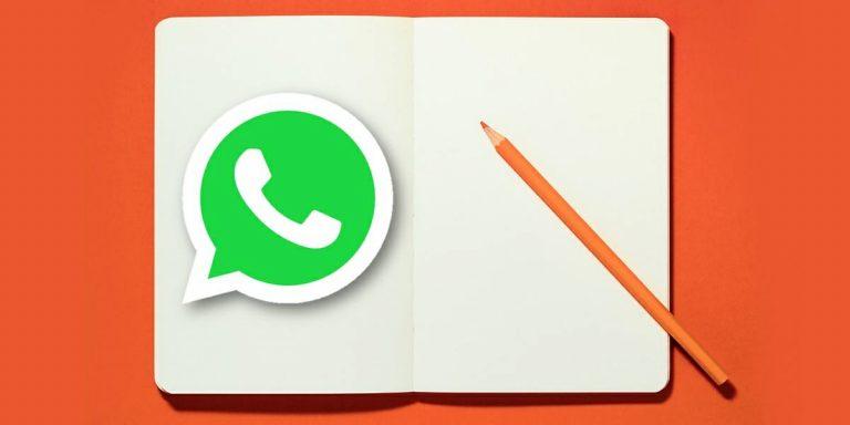 WhatsApp: así puedes chatear contigo mismo y llevar un diario