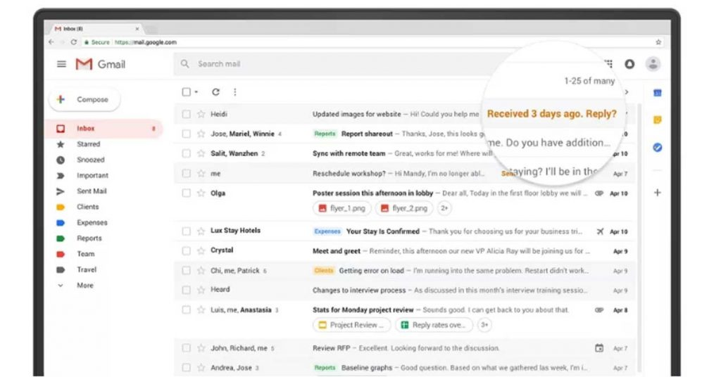 El truco de Gmail para ordenar tu bandeja de entrada y ahorrar tiempo
