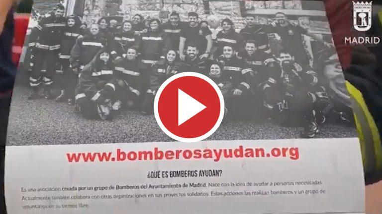 """Bomberos de Madrid participan en el calendario solidario de """"Bomberos Ayudan"""""""