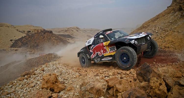 Contrataque Carlos Sainz Dakar