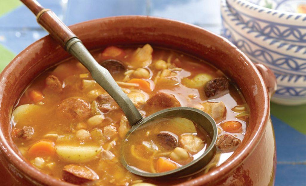 En invierno apetece un buen plato de comida caliente.