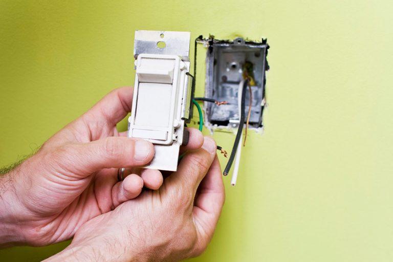 Cómo cambiar un interruptor