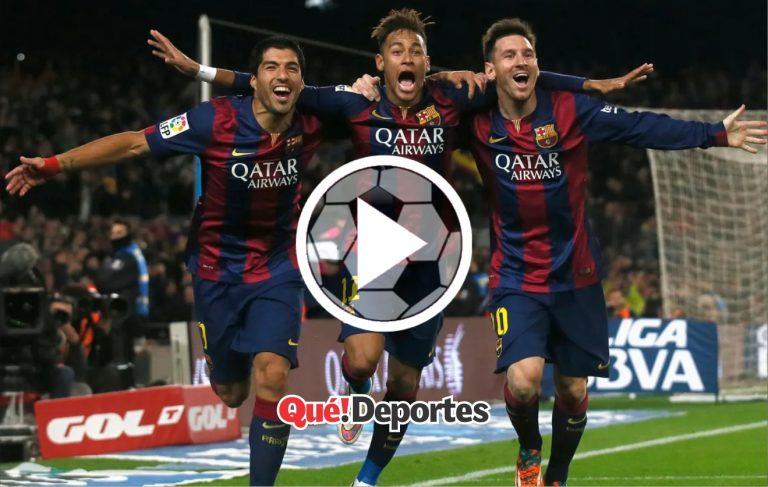 Ejemplo perfecto de un contraataque de la mano del Barcelona