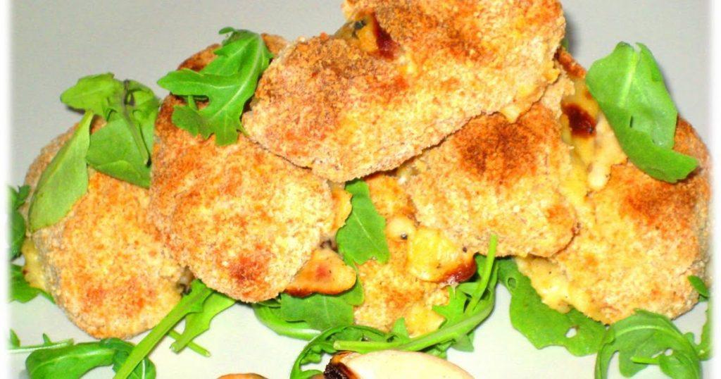 Ricas croquetas de mejillones al horno