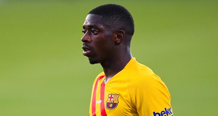 Dembélé, Laporta, FC Barcelona