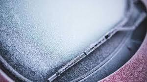 parabrisas congelados
