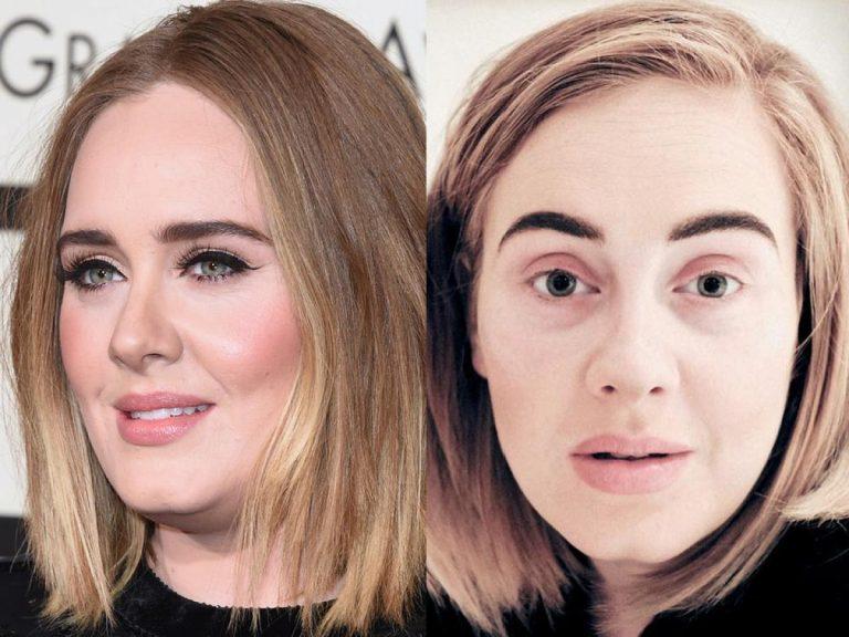 Famosas a las que no reconocerás sin maquillaje