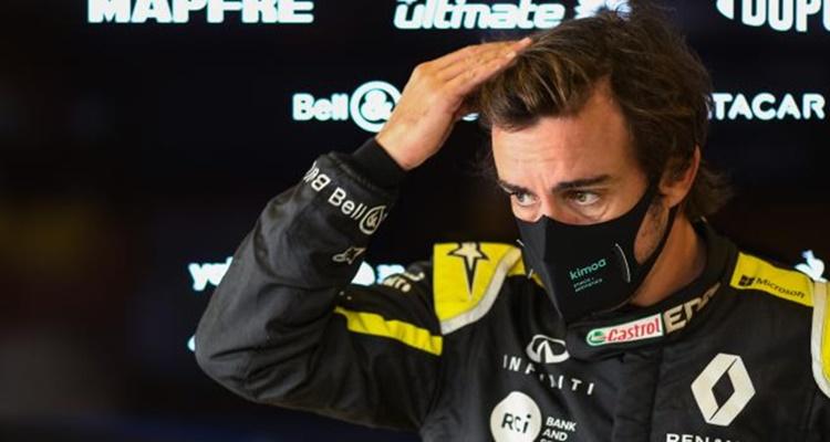 Fernando Alonso, Davide Brivio, Alpine