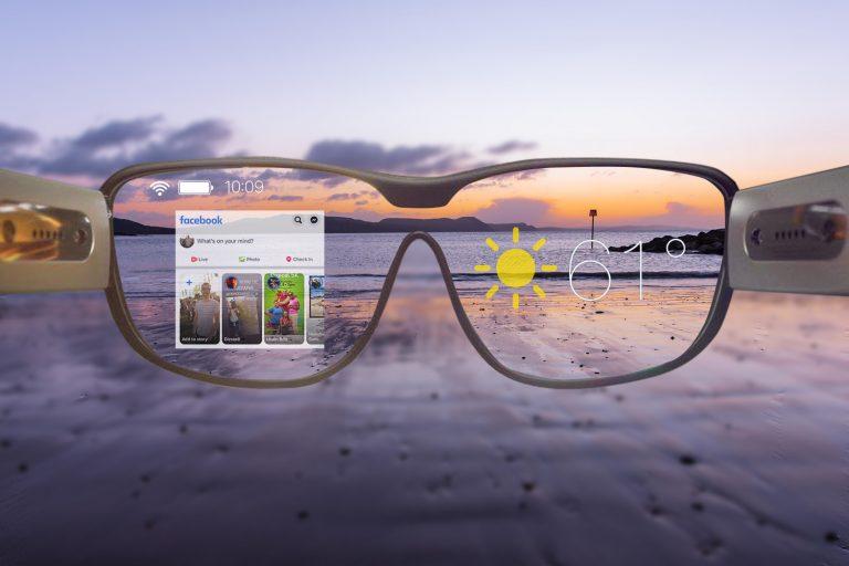 Así serán las gafas de realidad aumentada de Facebook
