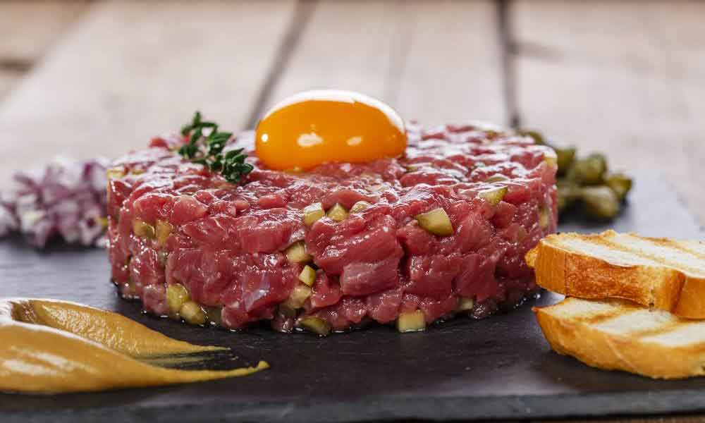El origen del steak tartar