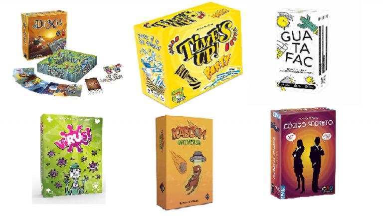 Amazon: los 8 mejores juegos de mesa para divertirse en casa sin pasar frío