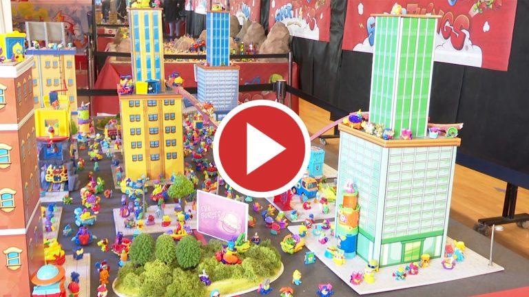 800.000 piezas de Lego inundan el Castillo de Alaquàs