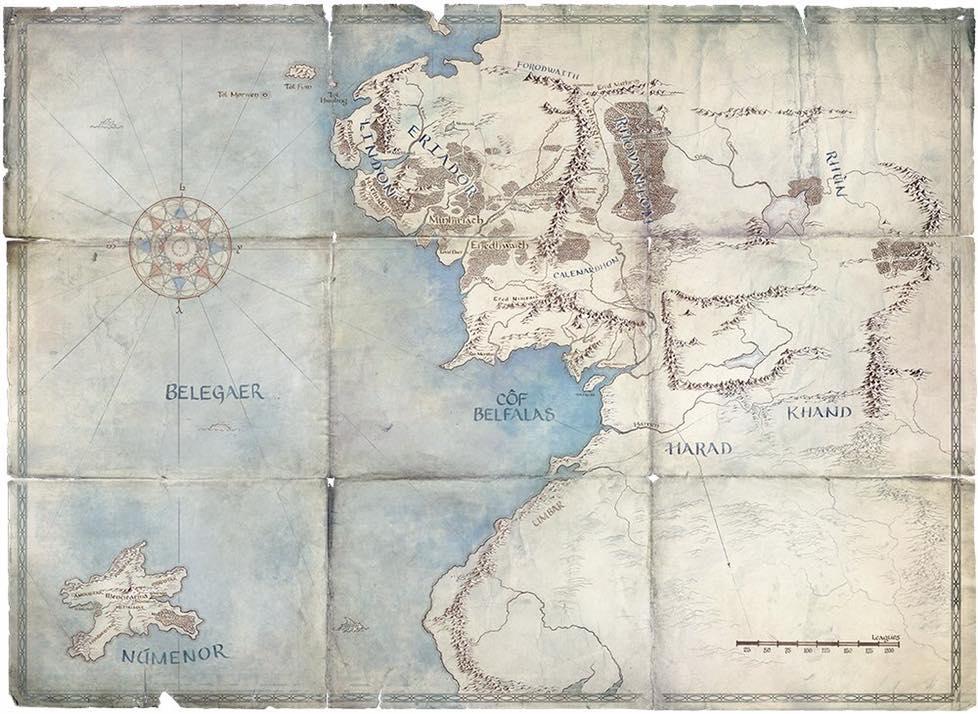Lugares donde transcurre la nueva ficción de 'El señor de los anillos'.