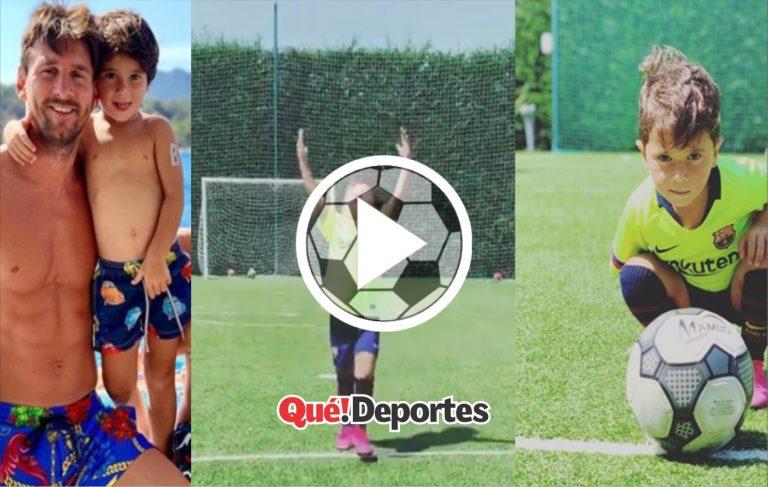 ¡Golazo de Los Messi!