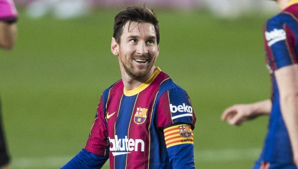 Laporta /Messi / Koeman FC Barcelona futbolistas para quedarse