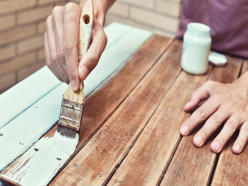 pasos para pintar un mueble