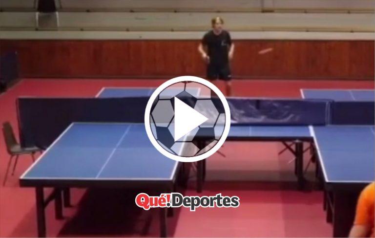 El ping pong mas raro del mundo