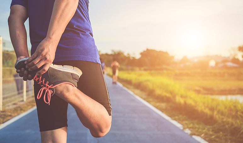 calentar los músculos antes de hacer ejercicio