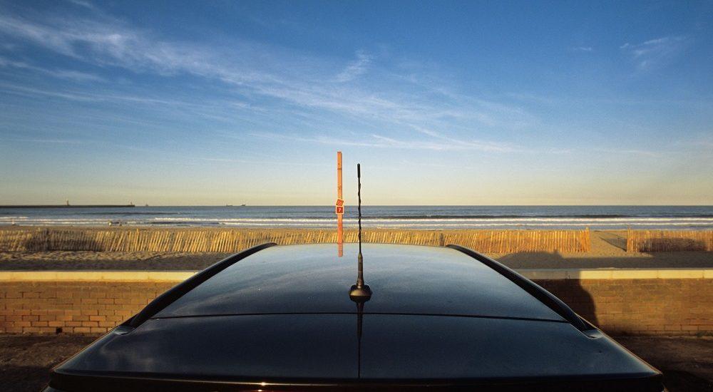 antena del coche