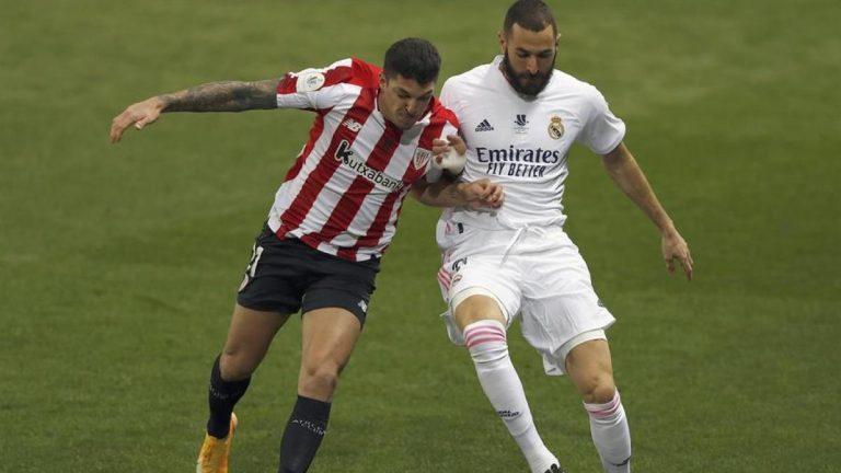 Un gran Athletic vence al Madrid y  jugará la final de la Supercopa contra el Barcelona
