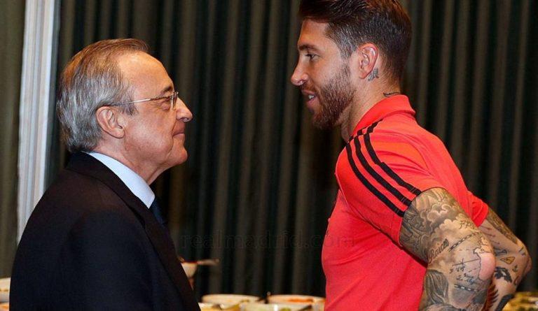 Sergio Ramos no es el único: futbolistas que han tenido bronca con Florentino Pérez