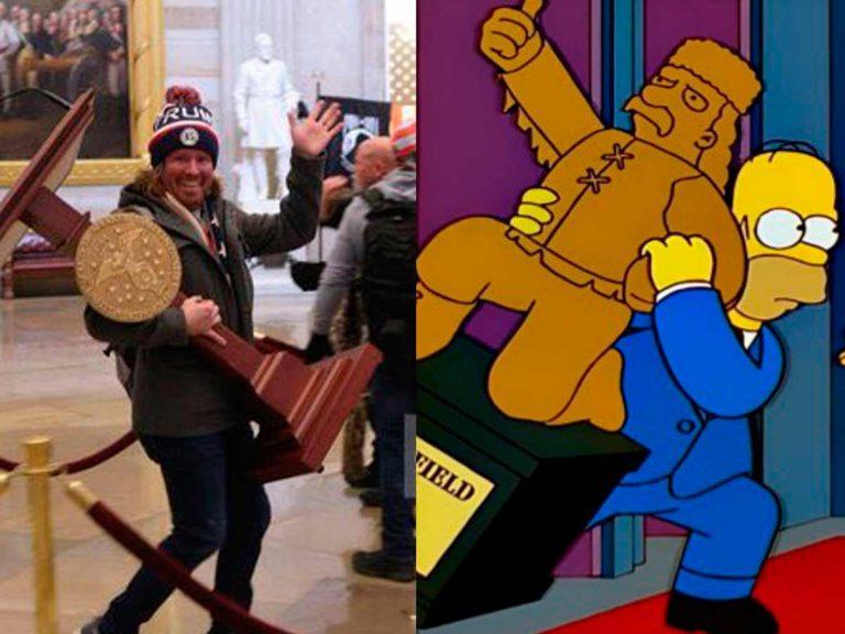 Los Simpson: el asalto al Capitolio y otras predicciones de la 'familia amarilla'