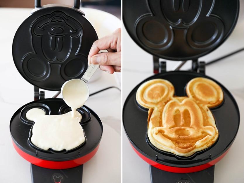 Increíbles tortitas de Mickey Mouse