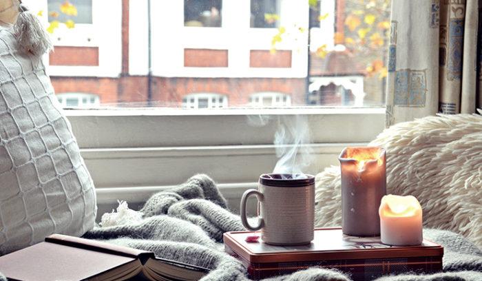calentar una habitación sin electricidad