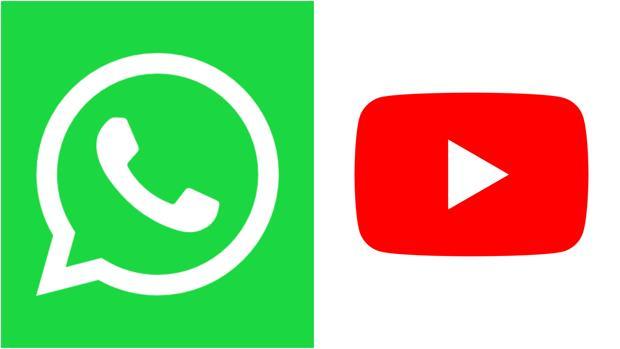 Videos de YouTube en WhatsApp