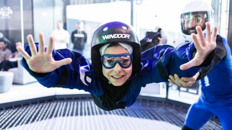 Windoor, la experiencia de volar a pocos metros del suelo