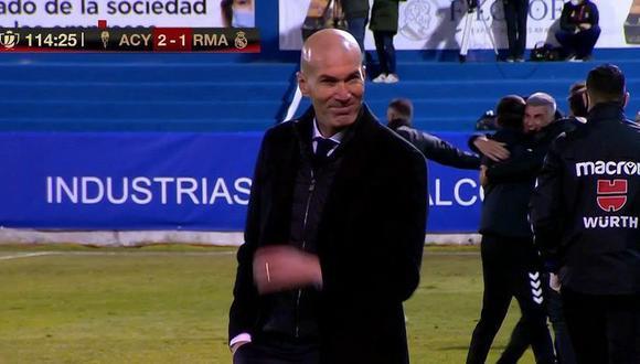 Zidane sabe que sus días en el Real Madrid pueden estar contados.