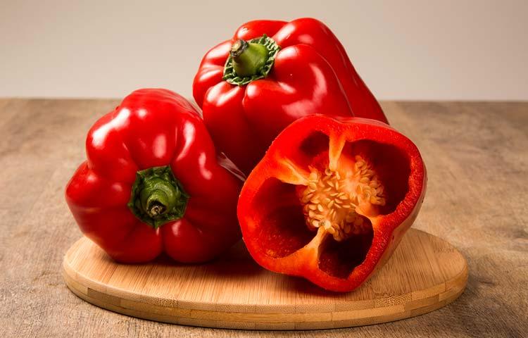 Pimiento rojo para bajar el colesterol