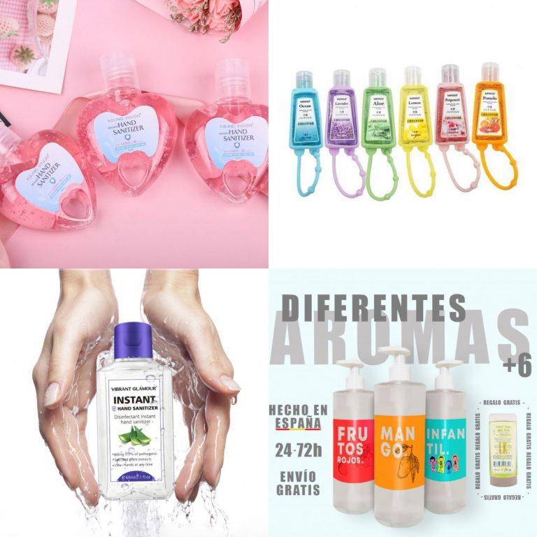 Aliexpress: 8 geles desinfectantes de aromas maravillosos que vas a querer tener