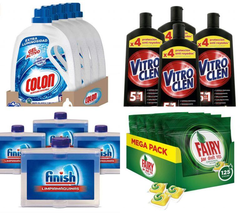 Sanytol, Fairy y más: 10 ofertones en productos de  limpieza para ahorrar en la lista de la compra