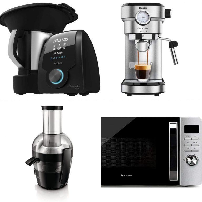Cecotec, Philips y Taurus: ofertones de hoy en pequeños electrodomésticos en Amazon