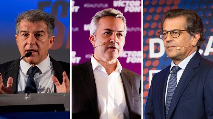 Las promesas de los candidatos del Barcelona para ganar las elecciones