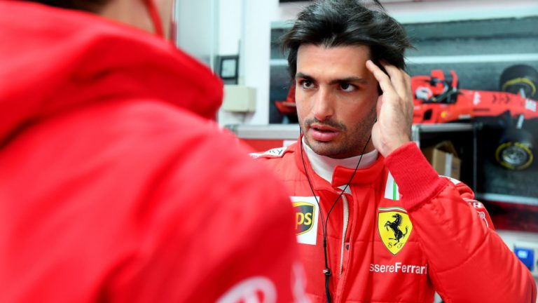 Qué se sabe del misterioso accidente que pudo tener Carlos Sainz con Ferrari