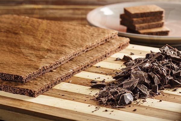 Ingredientes para preparar bizcocho de cacao o chocolate
