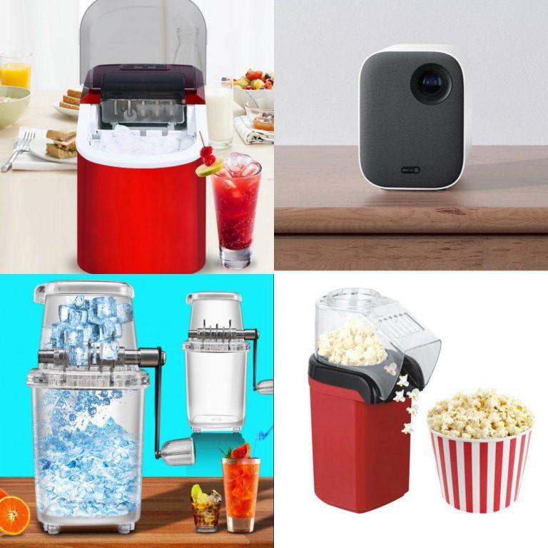 Convierte tu casa en un cine con estos chollos de hoy de Aliexpress máquina