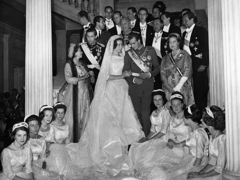Cuando Juan Carlos se casó