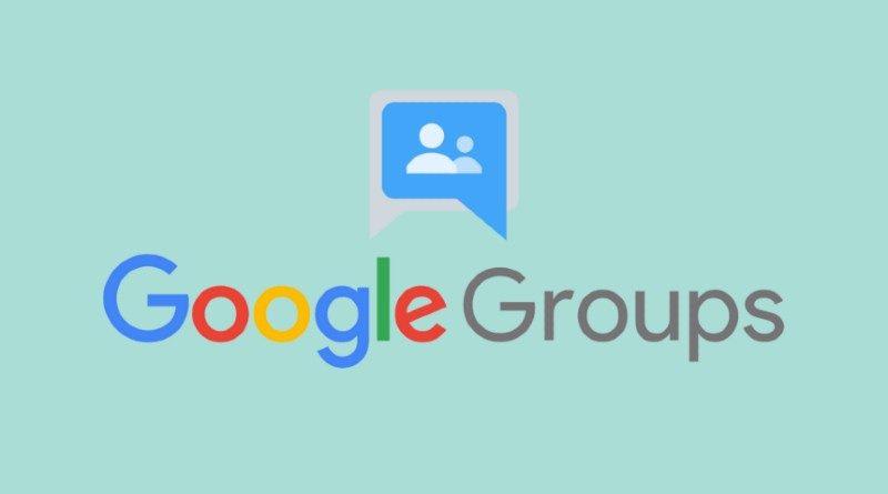 Diferencias entre un grupo de correos en Gmail y un grupo de Google