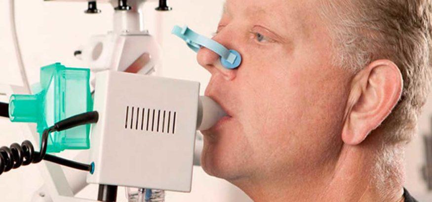 El procedimiento para las espirometrías